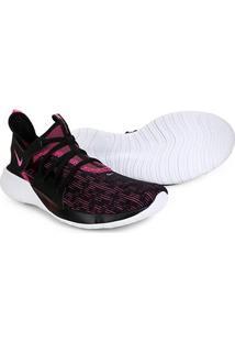 Tênis Nike Flex Contact 3 Feminino - Feminino-Preto+Pink