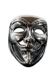 Anel Kodo Acessórios Anonymous Vazado Prata