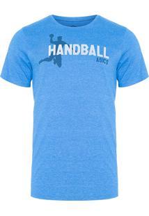 Camiseta Masculina Indoor Handball - Azul
