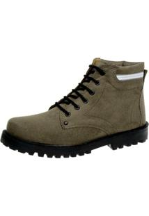 Bota Fearnothi Coturno970 Cinza