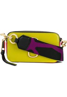 Marc Jacobs Bolsa Transversal 'Snapshot' Pequena - Amarelo