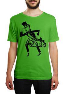 Camiseta Hshop Magic Scape - Verde Bandeira