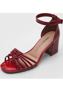 Sandália Dakota Tiras Vinho