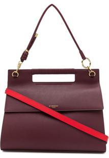 Givenchy Bolsa Whip Grande - Vermelho