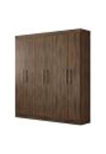 Guarda Roupa Imola 6 Portas Café Wood