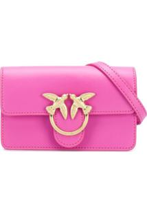 Pinko Bolsa Transversal Baby Love Simply - Rosa
