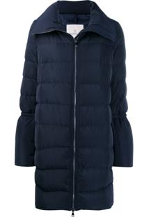Moncler Flared-Sleeve Puffer Jacket - Azul