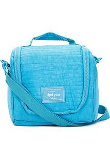 Bolsa Térmica Up4You Crinkle Básica - Feminino-Azul