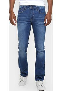 Calça Jeans Slim Fit Calvin Klein Stone Azul Masculino - Masculino