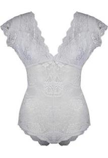 Body Nimphea Fatale - Feminino-Branco
