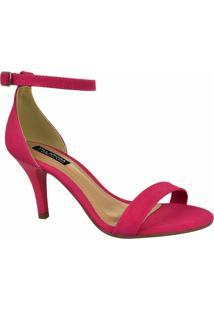 Sandália Tira Villa Feminina - Feminino-Pink
