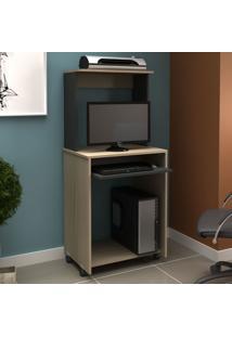 Mesa Para Computador Ho-2936 Avelã/Onix - Hecol