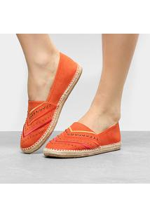 Sapatilha Shoestock Corda Feminina - Feminino-Laranja