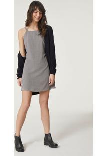 e6bf477a00f4 2x R$34.99 Ir para a loja; Vestido Curto Feminino Em Tecido De Viscose Com  Decote Halter Neck
