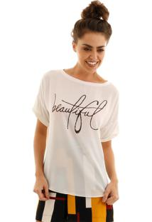 Blusa Aha Silkada Beautiful Off-White