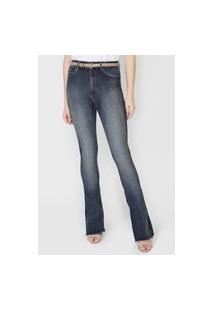 Calça Jeans John John Skinny Estonada Azul-Marinho