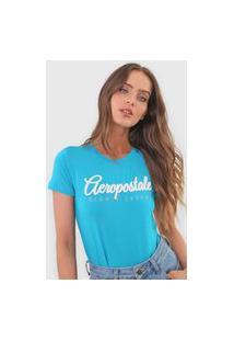 Camiseta Aeropostale Eighty Seven Azul