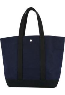 Cabas Bolsa Tote Média - Azul