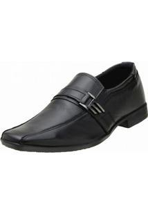 Sapato Topflex Couro Social - Masculino