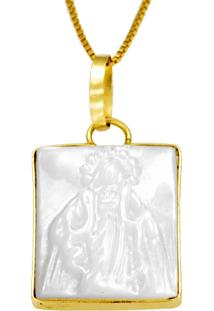 Pingente De Ouro Coração Vazado Liso E Trabalhado - Pg16135