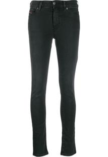 Diesel Calça Jeans Slim - Cinza