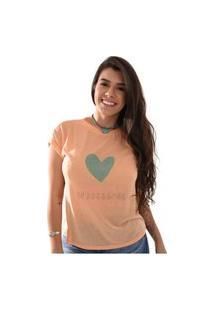 T-Shirt Miss Country Rodeio 101 Laranja