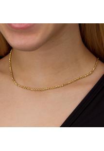 Pulseira Em Ouro Bracelete Com Coração E Zirconias - Ps10018