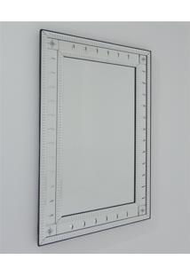 Espelho Veneziano Bisotado Decorativo Sala Quarto Als 58