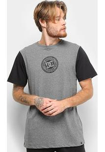 Camiseta Dc Shoes Slim Circle 3 Masculina - Masculino