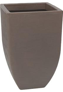 Vaso Malta Trapézio 36X55Cm Rusty