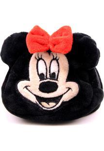 Porta Moeda Pelúcia Minnie - Disney - Kanui