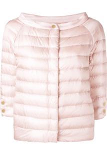 Herno Zipped Padded Jacket - Rosa