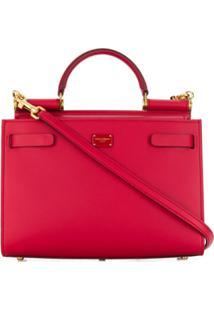 Dolce & Gabbana Bolsa Tote 'Miss Sicily' - Vermelho