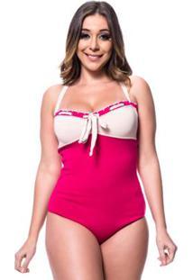 Body Tricot Rarah Cordão - Feminino-Magenta
