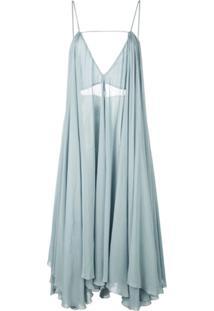 Jacquemus Vestido La Robe Belleza - Azul