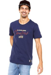 Camiseta New Era Starry Halo Cleveland Cavaliers Azul