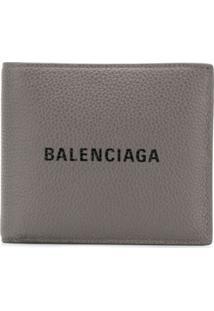 Balenciaga Carteira 'Everyday' - Cinza