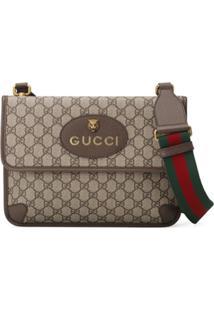 Gucci Bolsa Carteiro 'Gg Supreme' - Neutro