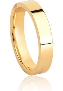 Aliança De Casamento Em Ouro 18K 3,9Mm