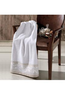 Toalha Banho Altenburg Naturale 100% Algodão Branco - 75Cm X 1,40M Branco