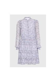 Vestido Michael Kors Tiered Shirt Ms08Yt1Egg562