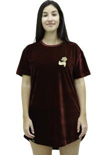 Camiseta Mc Verse Limited Rosa Banner Bordo