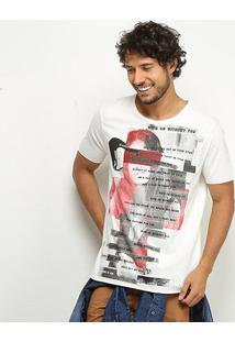 Camiseta Derek Ho With Or Without You Masculina - Masculino-Off White