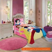 1a4ef06f55 Jogo De Cama Infantil Com 2 Peças Princesas Algodão Rosa