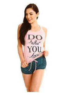 Short Doll Regata Com Silk Malwee Liberta (1000004618) Viscose Com Lycra®