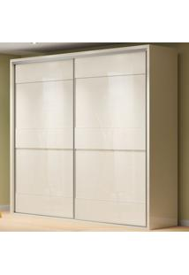 Guarda-Roupa Casal 2 Portas 4 Gavetas 100% Mdf Tw203 Off White - Dalla Costa