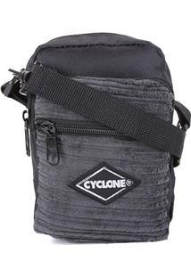 Bolsa Cyclone Shoulder Veludo Masculina - Masculino