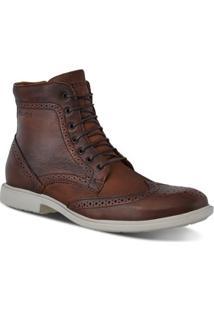 Sapato Casual Ferracini Bolton - Masculino-Café