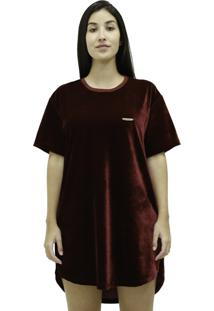 Camiseta Mc Verse Limited Plaque Bordo