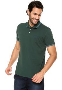 Camisa Polo Triton Linhas Verde